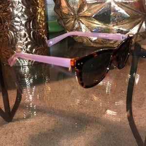 Cole Haan blush tortoise shell sunglasses